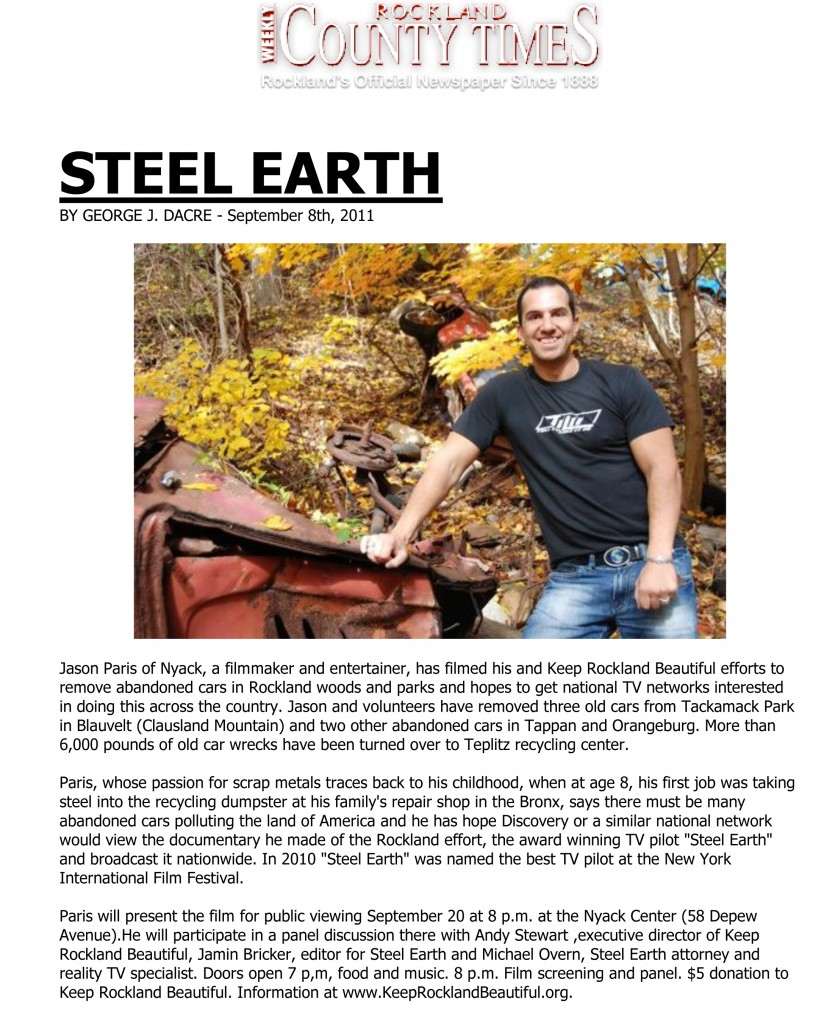 STEELEARTHRocklandCountyTimes