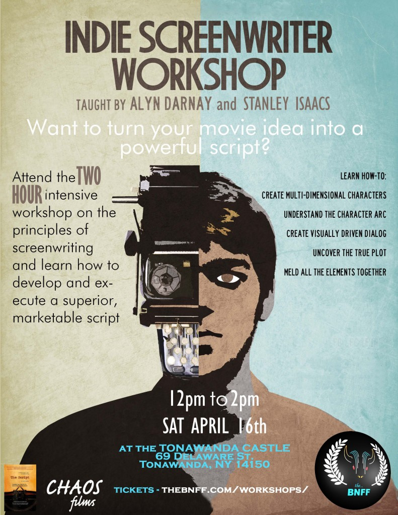 Indie Screenwriter Workshop Flyer 2